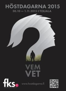 Affisch Höstdagarna 2015